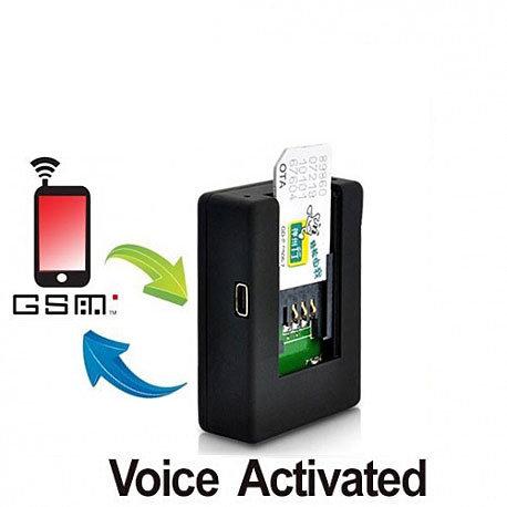 GSM-Abhörgerät für globale Audioüberwachung via Handy-Netz, weltweit. Hören Sie in jeden Raum auf der ganzen Welt. Mit autom. Rückruf sobald im Raum eine Geräusch erkannt wird. Funktioniert mit allen SIM-Karten.