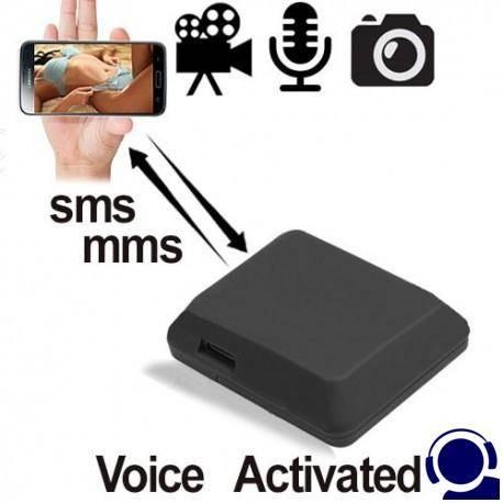 GSM Fern-Abhörgerät als Audio-, Foto-, Video-Falle in einem Gerät. Globale Bild- & Audioüberwachung über das Handy-Netz. Macht Live-Fotos und sendet diese als MMS an Ihr Handy. Video-, Foto-, Audioaufnahme auf SD-Karte per SMS Befehl. GSM Abhör-Sender anrufen und hineinhören ins Umfeld.