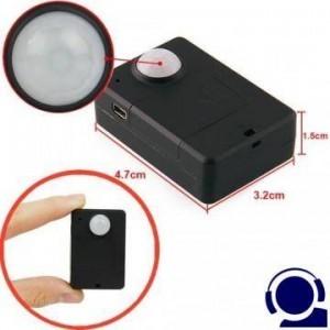GSM Fern Abhörgerät, Bewegungsgesteuert. Ruft Sie an sobald im Raum eine Bewegung erkannt wird. Der integrierte PIR-Bewegungsmedler reagiert auf 5 mtr. Globale Raumüberwachung via Mobilfunk-Netz.