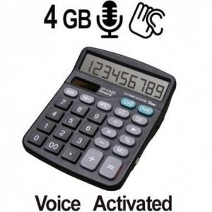 Voll funktionsfähiger Tischrechner mit integriertem Digital-Voice-Recorder als verdecktes Abhörgerät, sprachgesteuert für Langzeitaufnahmen bis 144 Stunden. Eine Ideale Lösung zur Audio-Überwachung für Privat und vor allem im Büro.