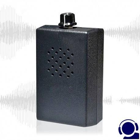 Abhörschutz durch akkustische Störsignale. Blockiert alle Abhörmikrofone mittels Rauschgenerator. Mikrofone von Abhörgeräten werden damit desensibilisiert. Der Lauscher hört nur das Rauschen des AUDIO-Blockers. Wirksamer Schutz gegen Tonbandgeräte, Richtmikrofone, funkbasierte Wanzen, Wand-Lauschgeräte (Stethoskope).